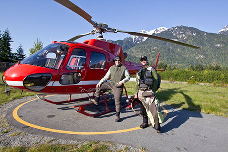 Heli Fly Fishing Trips