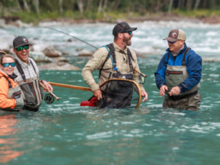 anglers and guides celebrate