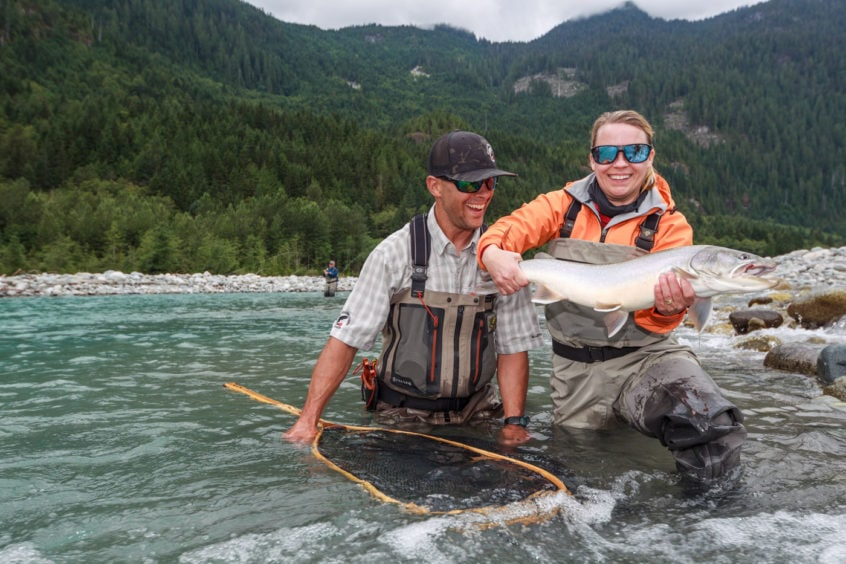 huge bull trout