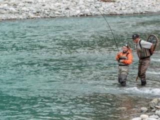 fly fishing the pitt river