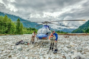 Heli-Fishing on the Pitt River