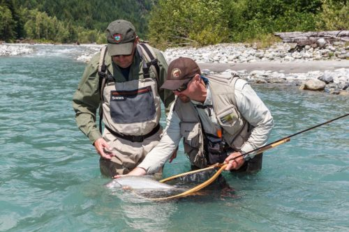 Fly fishing day trips in Squamish, B.C.