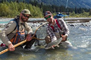 Heli-Fishing the Pitt River