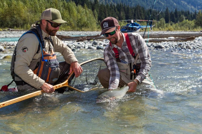 Heli-Fishing for Bull Trout in Whistler