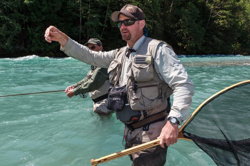 Best guided heli fly fishing trips near Vancouver, Whistler, and Squamish, B.C.