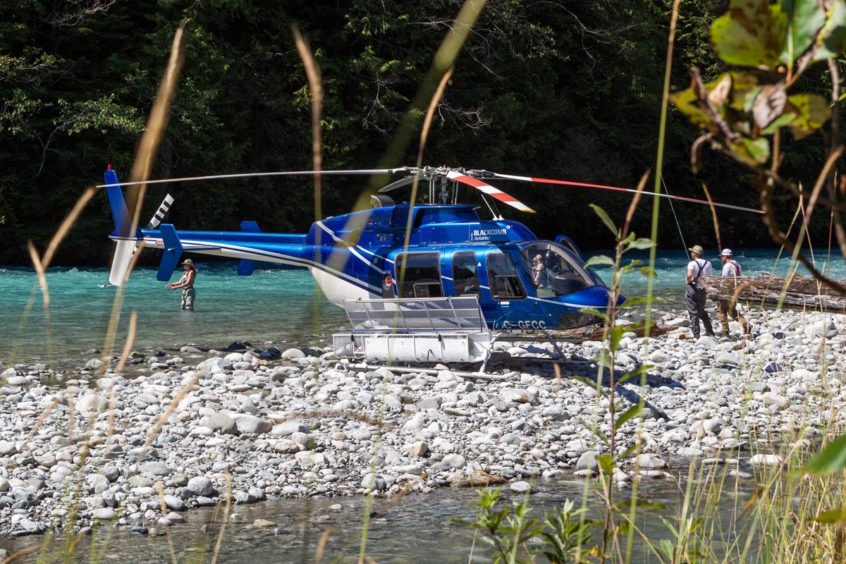 Heli Fly Fishing in Whistler BC