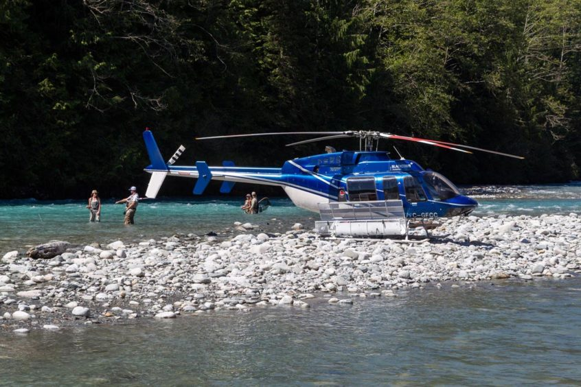 Heli-Fishing in Whistler BC