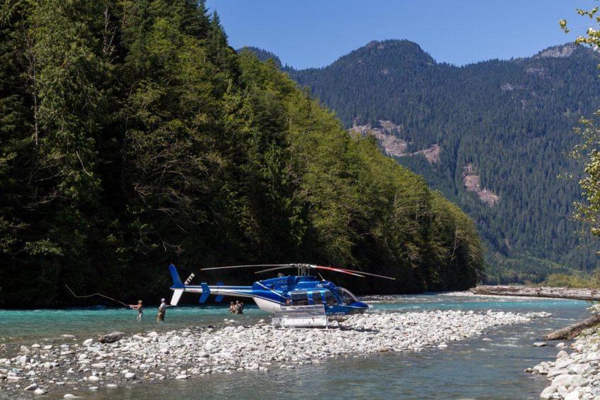 Heli-Fishing in BC
