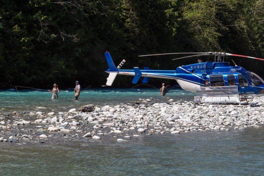 Heli-Fishing trip in Whistler