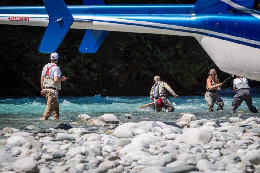Heli-Fishing in Whistler