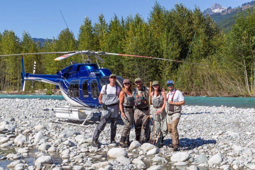Heli-Fishing in Squamish BC