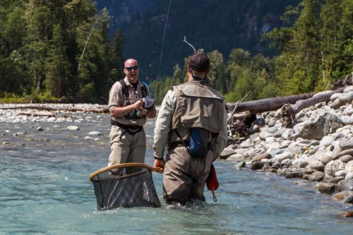 Learning to fly fish in B.C. on a guided heli-fishing trip