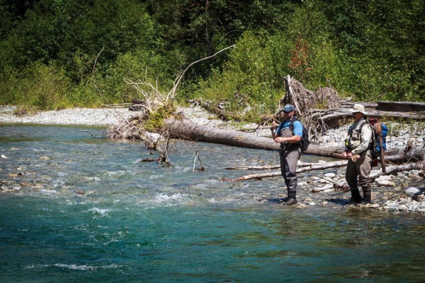 Guided heli-fishing trips from Whistler and Vancouver, B.C.