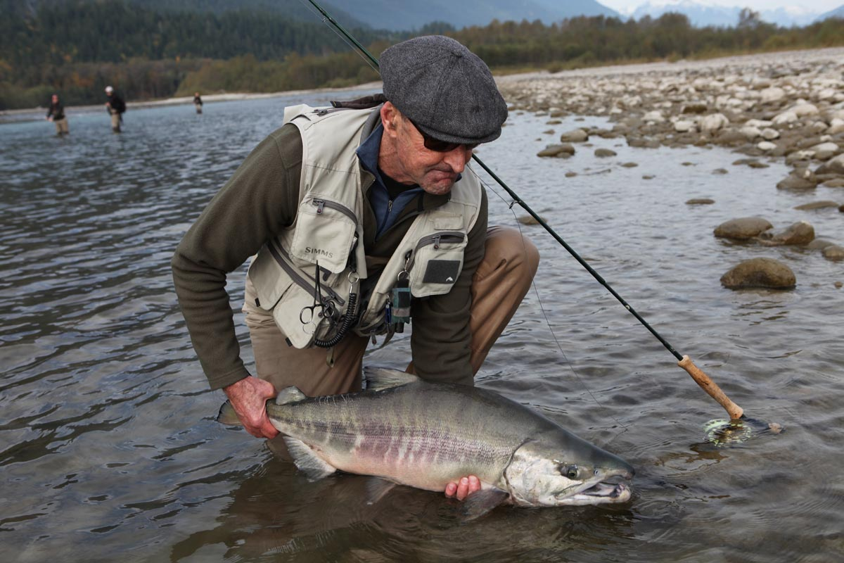 Chum Salmon Fly Fishing in B.C.