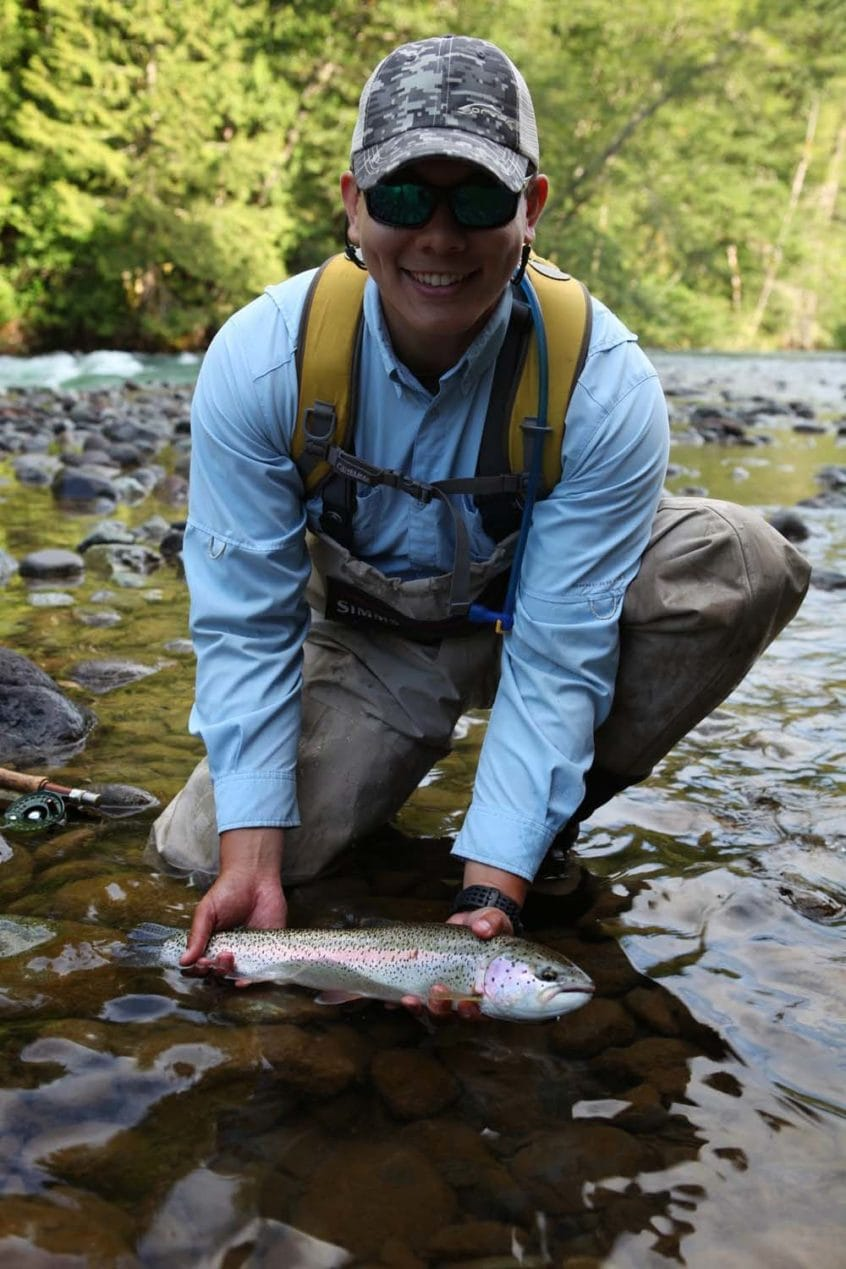 Rainbow Trout from the Cheakamus River in Squamish BC