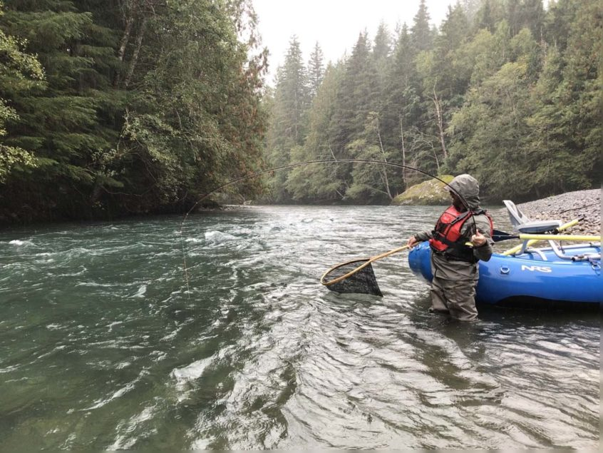 Fall Rafting for Trout