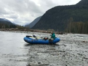 Squamish Fly Fishing by Raft
