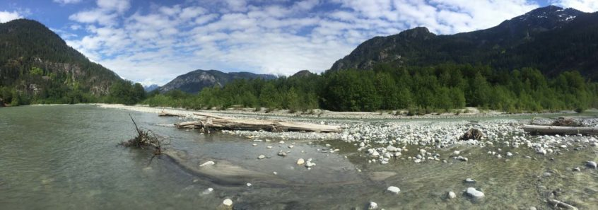 River Landscape in Squamish BC