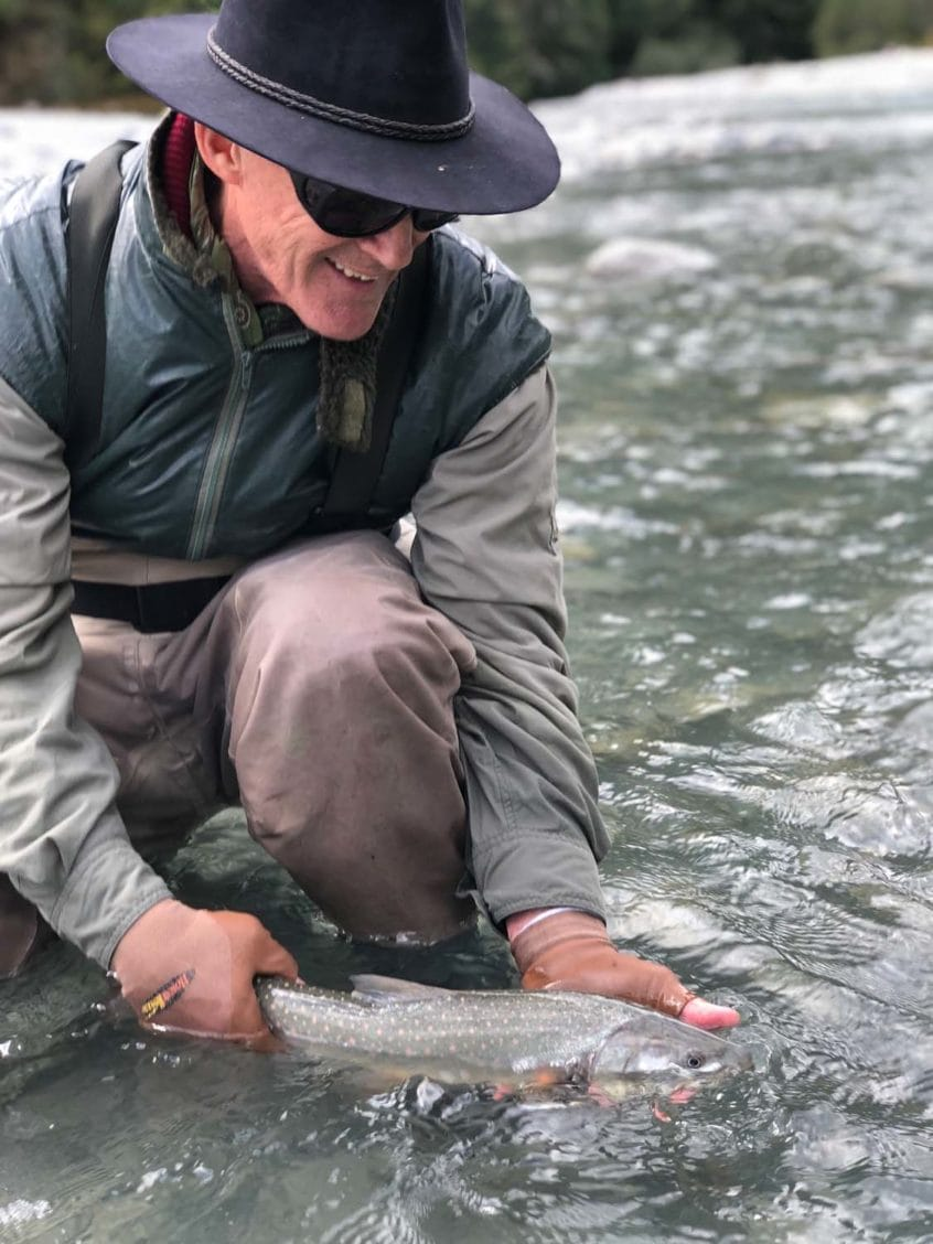 small bull trout in Squamish