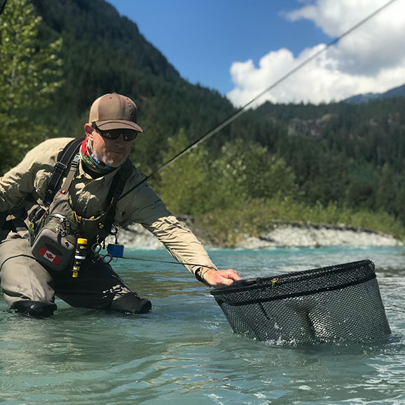 Gerald Wolfe, Valley Fishing Guides
