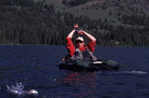Remote fly fishing day trips in BC