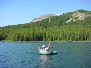 Remote fishing day trips from Whistler, British Columbia