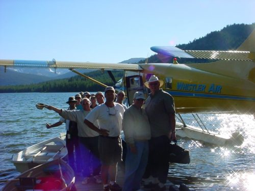 Guided fly fishing trips for groups near Whistler, B.C.