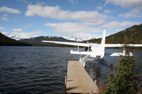 Float plane for fly-in Fishing Trips near Whistler