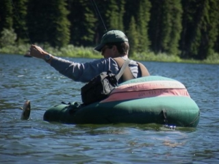 Spruce Lake fly-in fishing trips