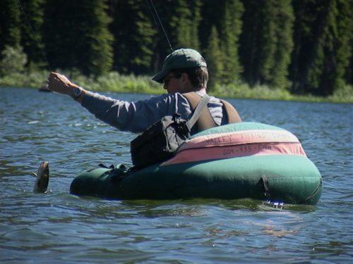 Spruce Lake fly-in fishing trips