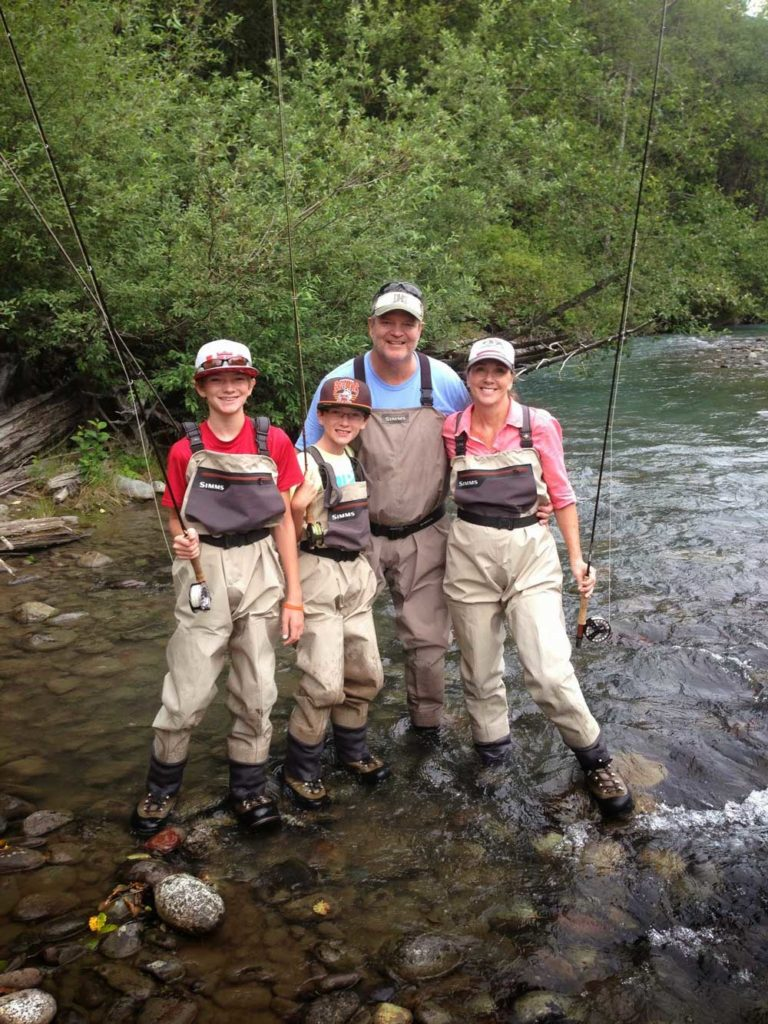 Upper Cheakamus River Fly Fishing