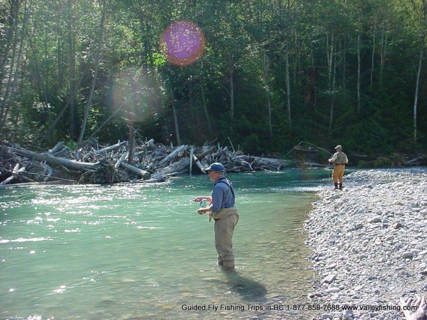 Sunny Fly Fishing Trip