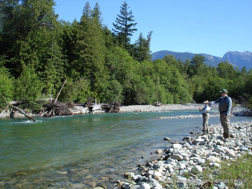 Whistler river fly fishing trip