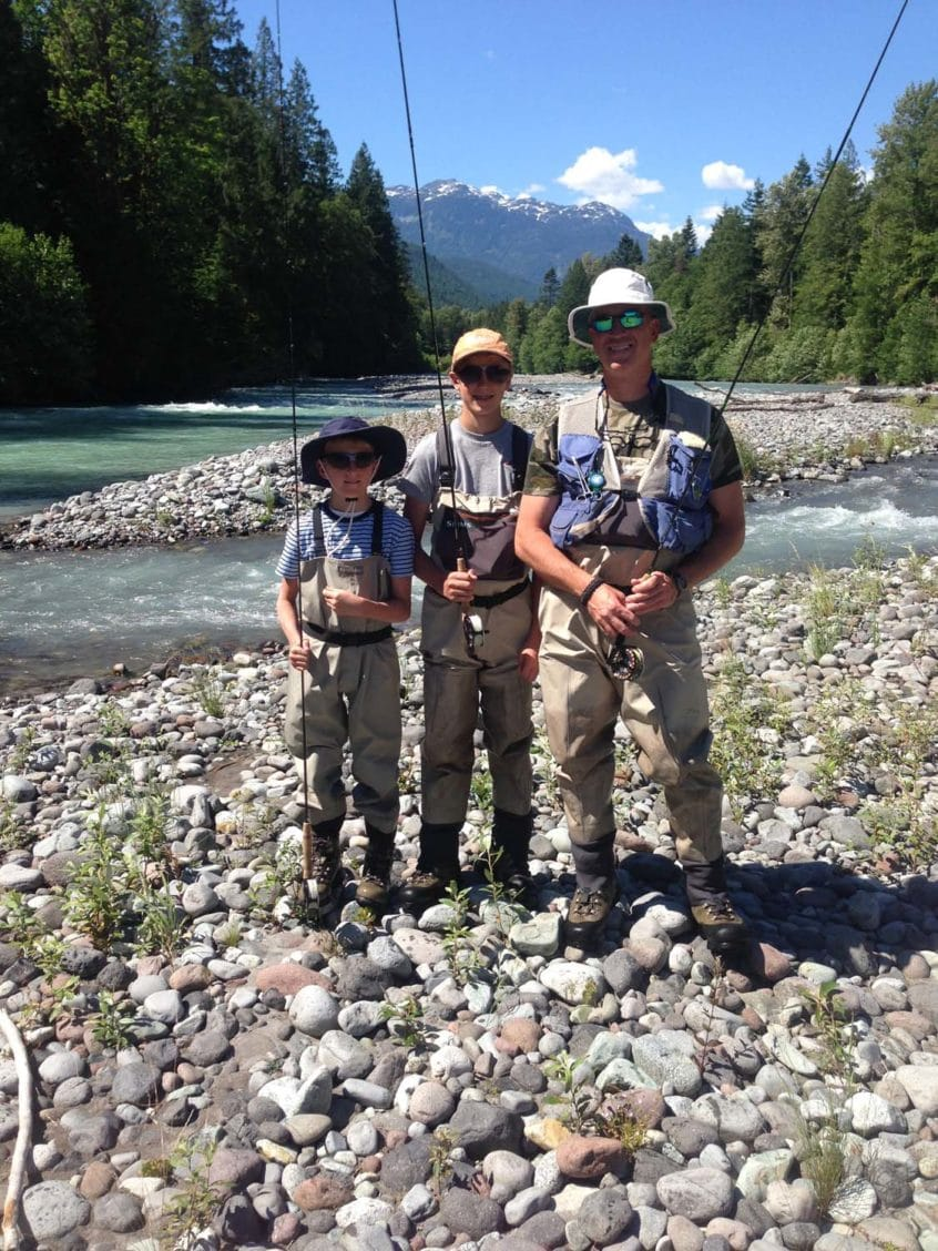 Family Fly Fishing Trip in Whistler
