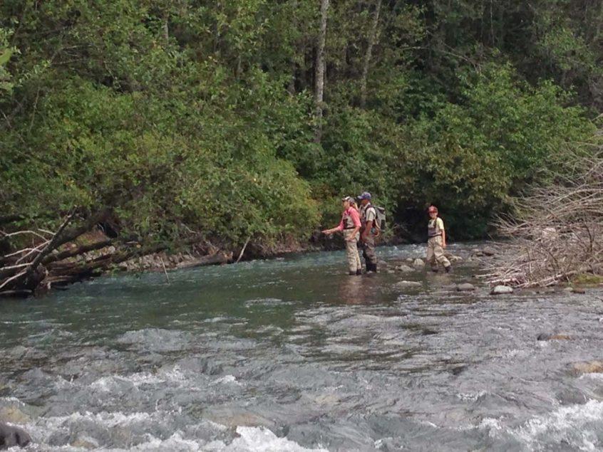 Family Whistler Fly Fishing Trip