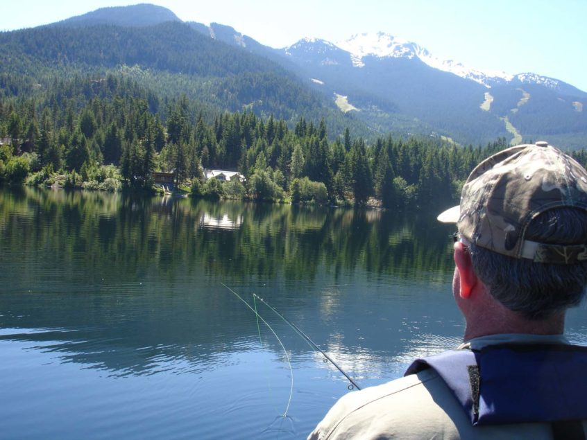 Alta Lake Fly Fishing in Whistler
