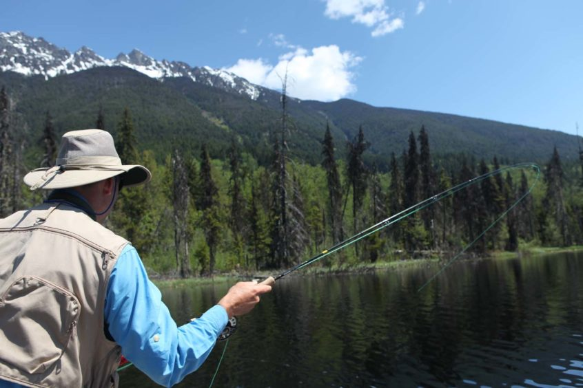 Fly Fishing on Blackwater Lake