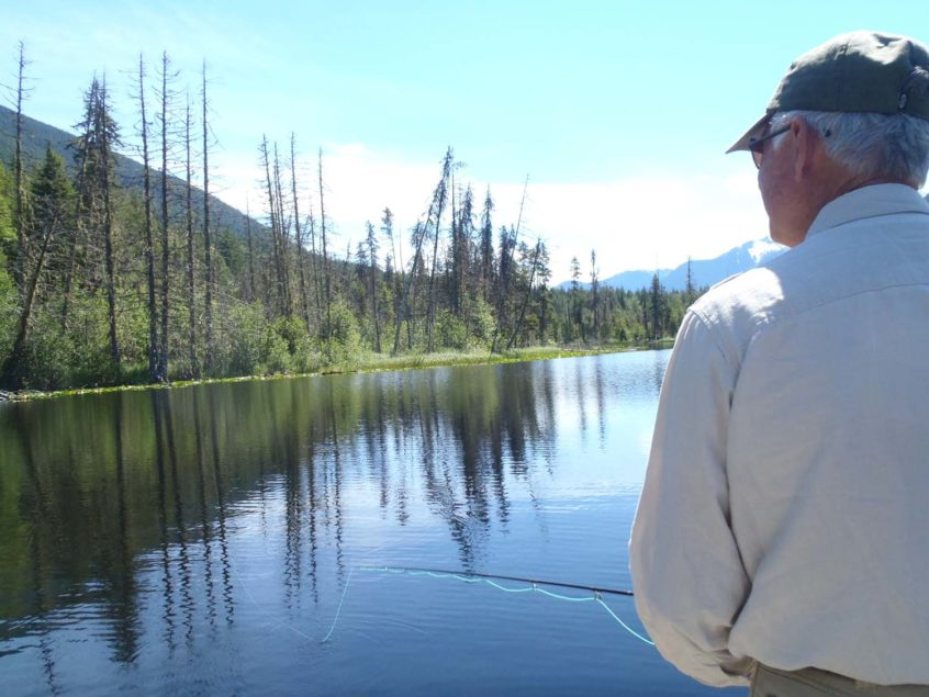 fly fishing lakes in Whistler
