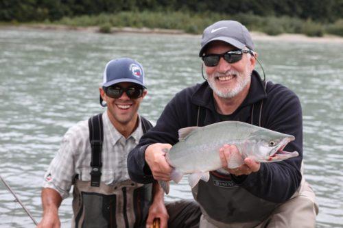 Pink, Chum, and Coho Salmon fishing in British Columbia, Canada
