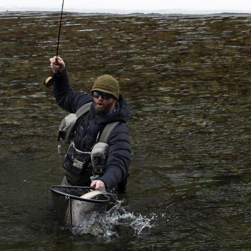 Squamish Steelhead Netting Skills