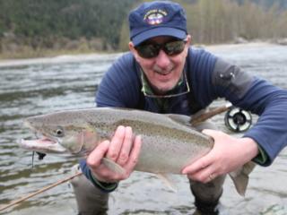 Fly fishing for Steelhead
