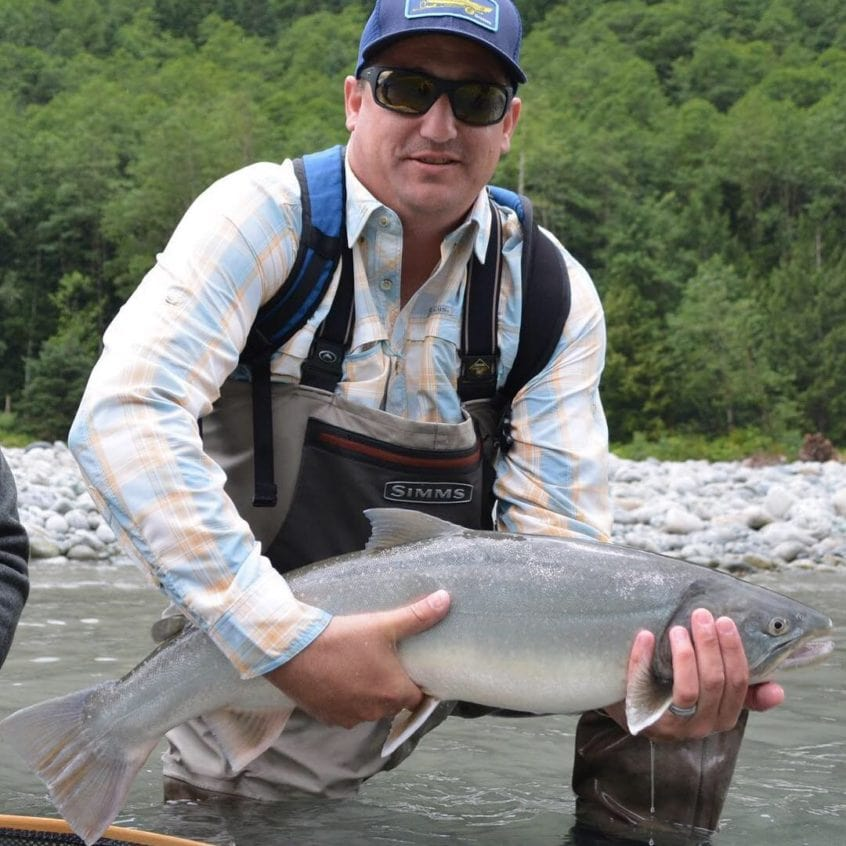 Heli-Fishing for Bull Trout