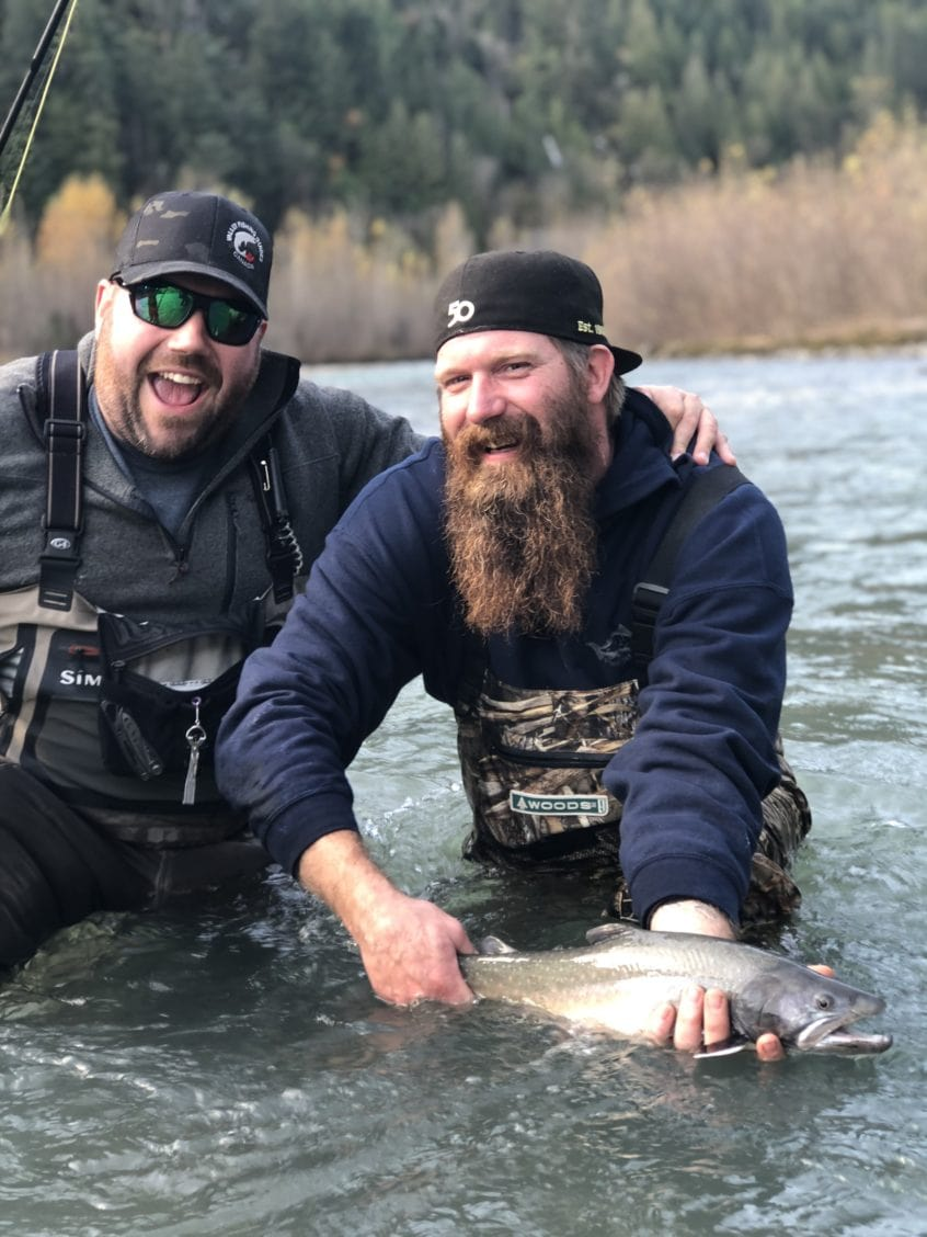 Big beards and Bull Trout
