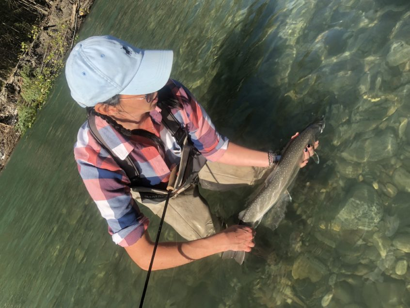 Czech nymphing for bull trout