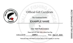 Fly Fishing Gift Certificate