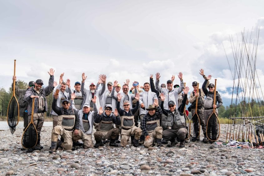 Corporate Fly Fishing Trips