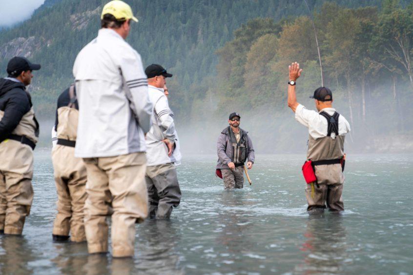 Teaching fish fighting skills
